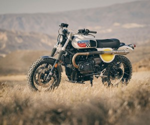 Fuel Bespoke Motorcycles Coyote Motorcycle