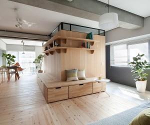 Fujigaoka M Apartment in Yokohama by Sinato