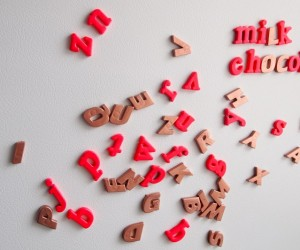 Fun And Chic DIY Alphabet Magnets