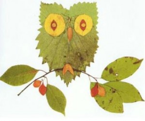 Fun Crafts Involving Leaves for Early Fall