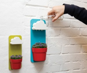 Fun functionality: creative rainy pots