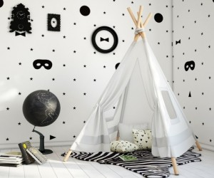 Fun kids room by Fajno design
