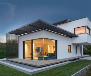 Functional Elegance: Concept House Showcasing a Soothing Color Palette