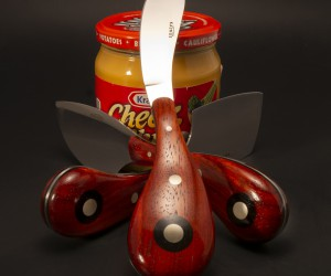 Funky Cheese Knives from Kalmus Culinary Knives