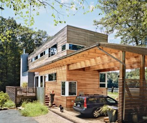 Funky Timber Pre-Fab Architecture
