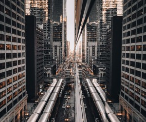 Futuristic and Cinematic Urban Photos of Chicago by John Noonan