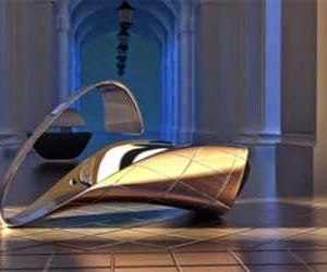 Futuristic Chair by Ali Alavi