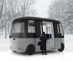 Gacha Autonomous Shuttle Bus  MUJI  Sensible 4