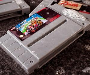 Game Cartridge Soaps