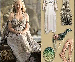 Game of Thrones Kickass Khaleesi Costume.