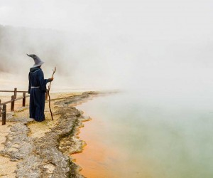 GandalfTheGuide: Akhil Suhas Explores New Zealand with Gandalf Costume
