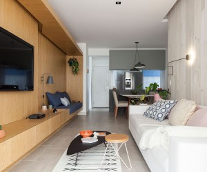 Gar Apartment: Modern So Paulo Home in Wood and Concrete