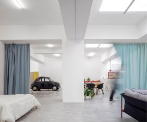 Garage House in Lisbon  Fala Atelier