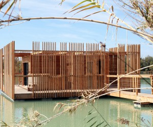 GCP Wood Cabins Hotel designed by Atelier LAVIT