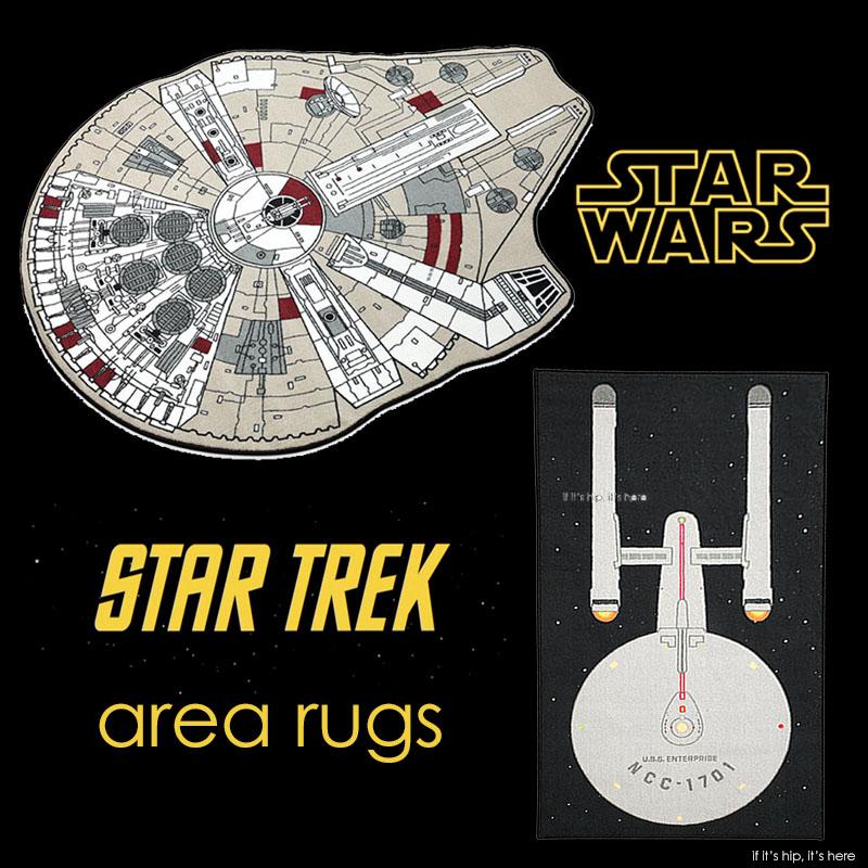Geek Decor Star Wars And Star Trek Area Rugs