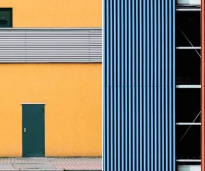 Geometric Abstraction and Minimalistic Compositions in Urban Structures by Julian Schulze