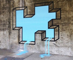 Double Take | Geometric Tape Designs in Real Life