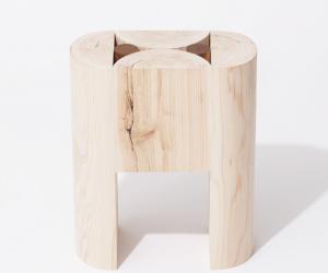 Geometry Stool by Koichi Futatsumata Studio