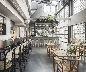 George Marina Restaurant in Amsterdam by Framework Studio