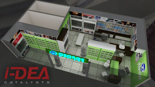 4ac69d07cb0 George Optical Retail Store Design by I-Dea Catalysts