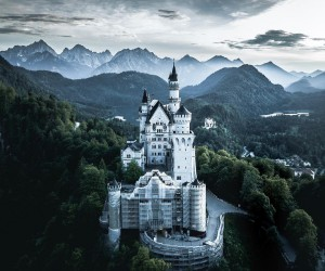 Germany From Above: Moody Drone Photography by Andre Diaz