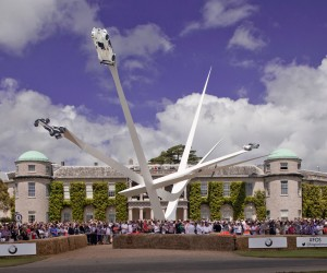 Gerry Judah celebrates BMWs centenary at Goodwood