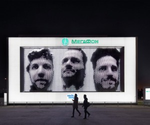 Giant 3D Selfies at Sochi