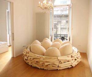 Giant Birds Nest Sofa   OGE