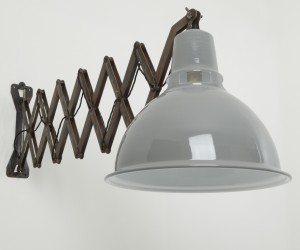 Giant scissor wall lights