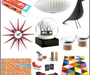 Gift Guide For Mid Century Modern Design Lover.
