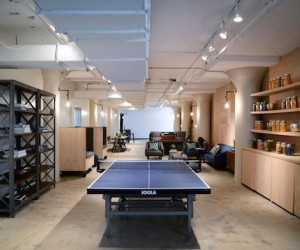 Gilt Groupe Office by Homepolish | NYC Chic Office
