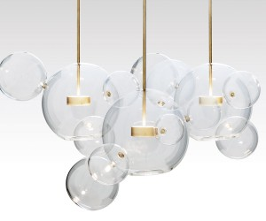 Bolle, Hand blown glass lamp