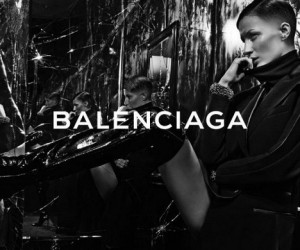 Gisele Bundchen Sports Shaved Head for Balenciaga FW 14.15