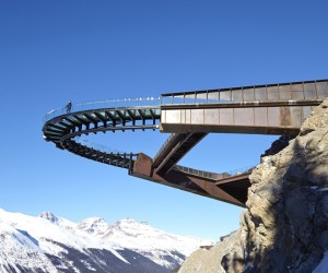 Glacier Skywalk by Sturgess Architecture, Canada