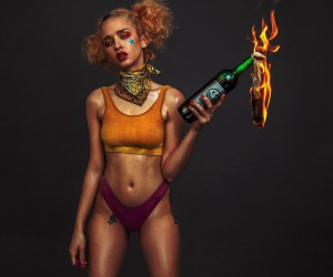Glamour and Dark Beauty Photography by Haris Nukem
