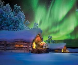 Glass Igloo Lets You Sleep Under the Northern Lights