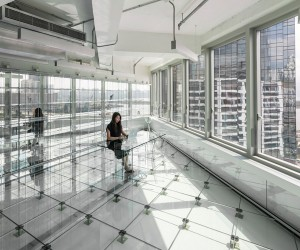 Glass Office by MVRDV in Hong Kong
