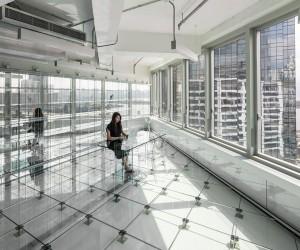 Glass Office by MVRDV in Hong Kong