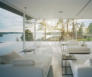 Glass Summer House in Sweden | Beauty and Seclusion