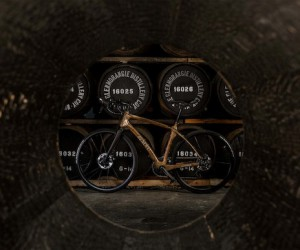 Glenmorangie Teams Up With Renovo To Create a $7,000 Bike Made Out of Whisky Barrels