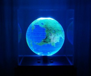 Globe: An Interactive Spherical Display