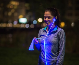 Glow, First Smart Headphones with Laser Light