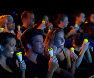 Glow in the Dark Cornetto by Bompas  Parr