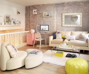 Going Shabby Chic: Trendy Manhattan Triplex Shows You How