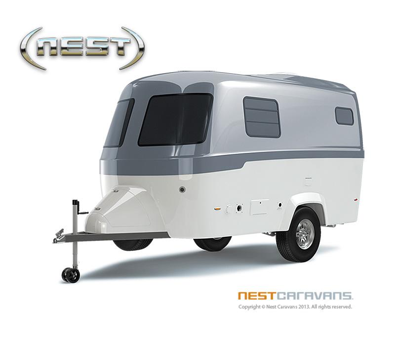 Good Design For The Great Outdoors Nest Caravans