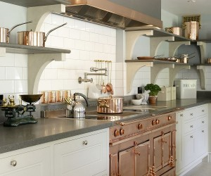 Gorgeous Bespoke Kitchen Combines Modern Luxury with Edwardian Charm