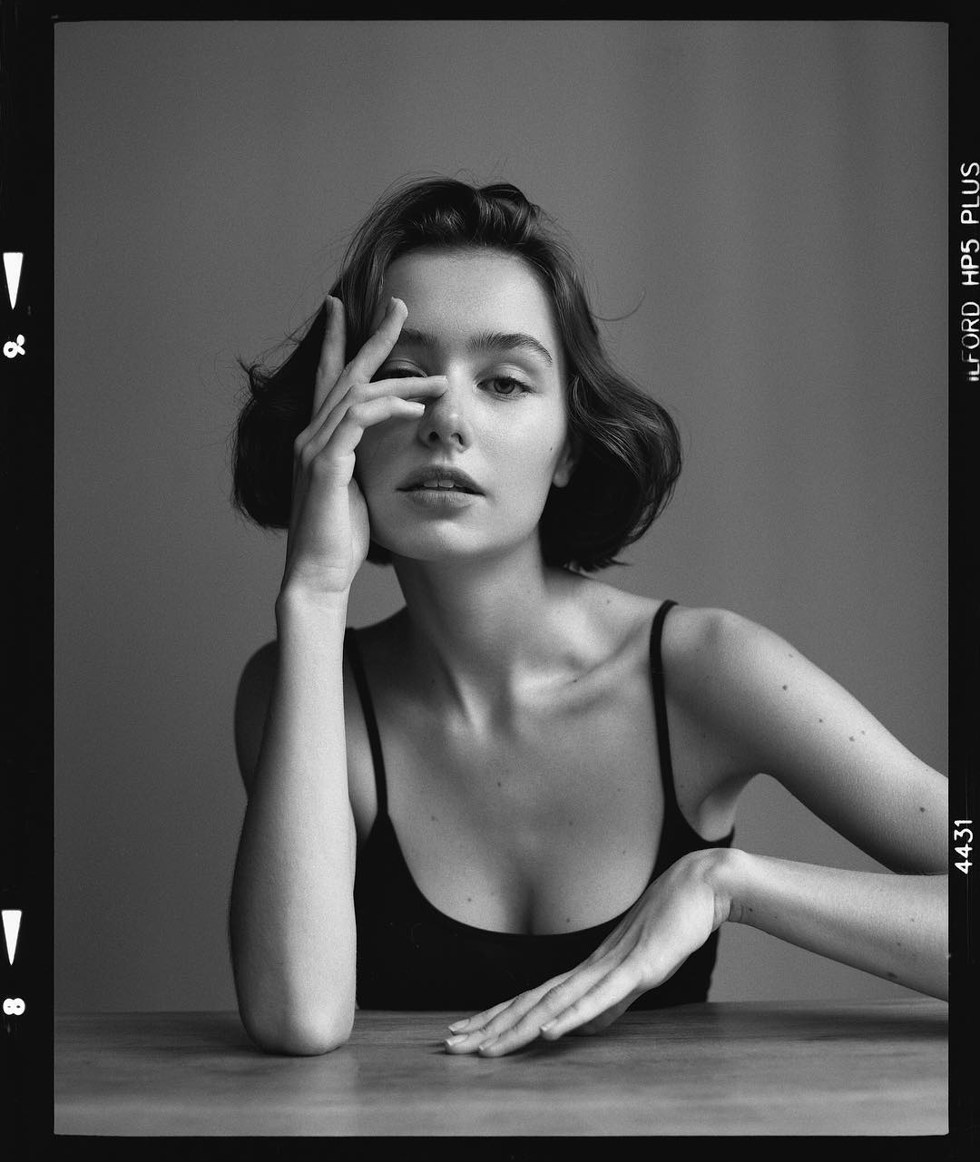 Gorgeous black and white portrait photography by jean marie franceschi