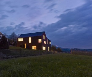 Gottshalden House by Rossetti  Wyss Architekten