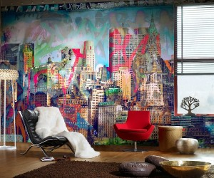 Graffiti Brings Spirited Street Style Indoors