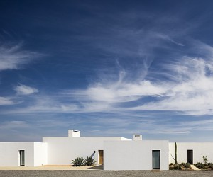 Grandola House Located in a Vast and Arid Landscape of Portugal